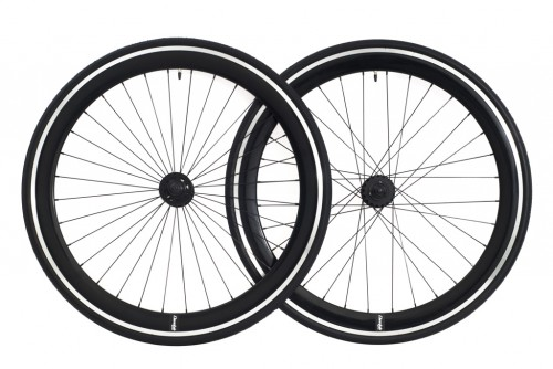 cheetah wheelset black CNC