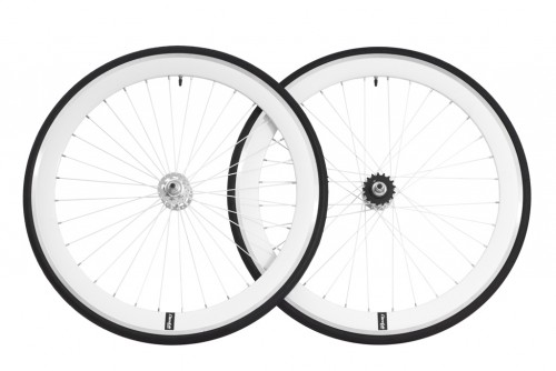 cheetah wheelset white CNC