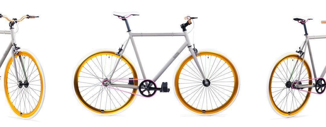 KMS California fixie bike